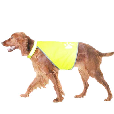Reflective Jacket - Safety-Dog Reflective Dog Vest - Size L