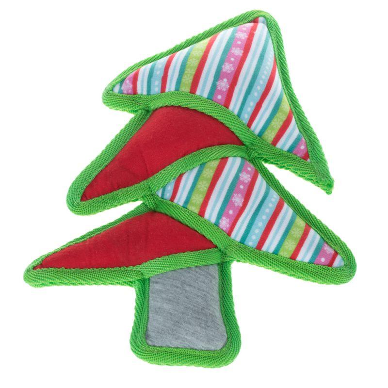 Christmas Tree Soft Dog Toy