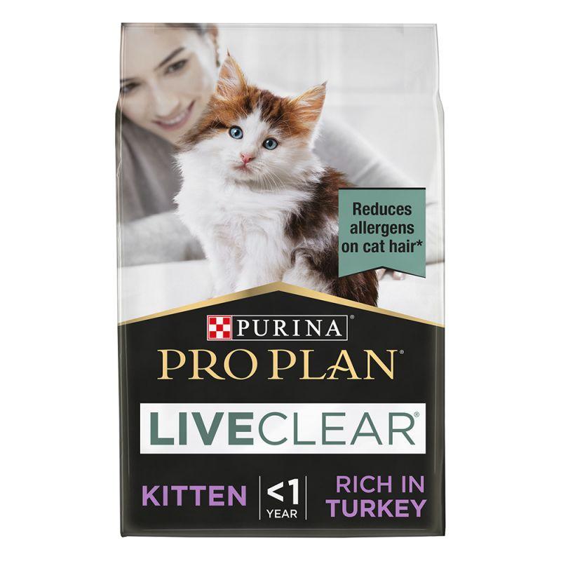Proplan liveclear kitten turkey